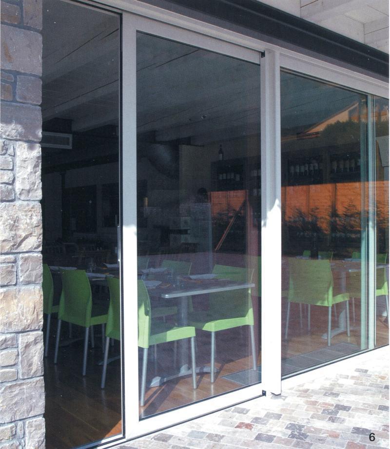 Porte scorrevoli interne – esterne | Euroser | Serramenti e Infissi ...